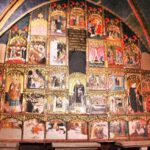Retablo gótico de Juan de Levi en la Catedral de Tarazona en Aragón