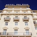 Fachada del Hotel Palacio en Estoril