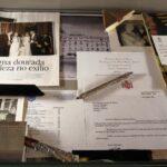 Documentación histórica en la Galería Real del Hotel Palacio en Estoril