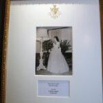 Foto de la Infanta Pilar en la Galería Real del Hotel Palacio en Estoril