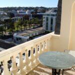 Terraza en habitación del Hotel Palacio en Estoril