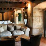 Salón en la Casa Grande de la Hacienda Zorita cerca de Salamanca