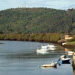Río Anllons en Ponteceso, inicio de la ruta Caminos do Mar en Costa da Morte