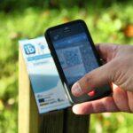 Códigos QR para smartphone en la ruta de senderismo Caminos do Mar en Costa da Morte