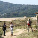 Paisajes de la ruta de senderismo Caminos do Mar de Ponteceso en Costa da Morte