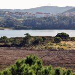 Zona de protección de aves en Caminos do Mar de Ponteceso en Costa da Morte