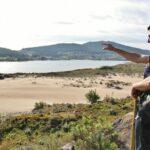 Dunas de la Ensenada de Insua en Caminos do Mar en Costa da Morte