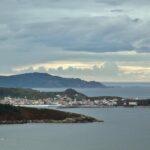 Vistas de Laxe y la Costa da Morte desde el monte Branco en Ponteceso