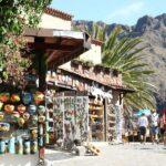 Tienda de artesanía en la aldea de Masca en el parque de Teno en Tenerife
