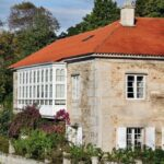 Casa natal de Eduardo Pondal en Ponteceso en la Costa da Morte de Galicia