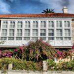 Casa natal de Eduardo Pondal en Ponteceso en Galicia