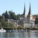 Torres góticas de la Catedral de Lucerna