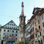 Plaza del centro histórico de Lucerna