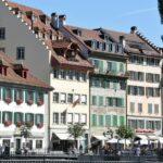 Edificios del centro histórico de Lucerna