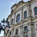 Fachada de la iglesia de los Jesuitas de Lucerna