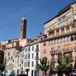 Vista panorámica de Tarazona en Aragón