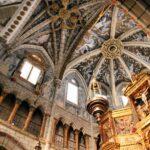 Bóveda de la cabecera de la Catedral de Tarazona en Aragón