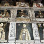 Retratos en la Sala de los Obispos del Palacio Episcopal de Tarazona