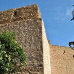 Torre de la antigua muralla medieval de Tarazona