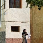 Callejones en el antiguo barrio medieval de Tarazona
