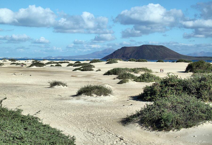 Dunas de Corralejo en Fuerteventura