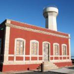 Faro del Tostón en El Cotillo en Fuerteventura en las islas Canarias