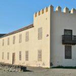 Casa de los Coroneles en La Oliva en Fuerteventura en las islas Canarias