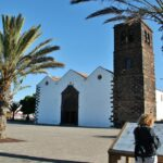 Iglesia de Candelaria en La Oliva al norte de Fuerteventura