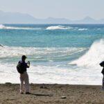 Playa de Ajuy en Fuerteventura en las islas Canarias