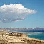 Playas de Costa Calma al sur de Fuerteventura en las islas Canarias
