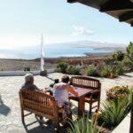 Vistas de Costa Calma desde el restaurante Mirador de Sotavento en Fuerteventura