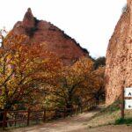 Picacho en Las Médulas en el Bierzo leonés