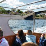 Barco de la excursión por el fiordo de Oslo