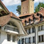 Rincón del barrio medieval de Auge en Friburgo