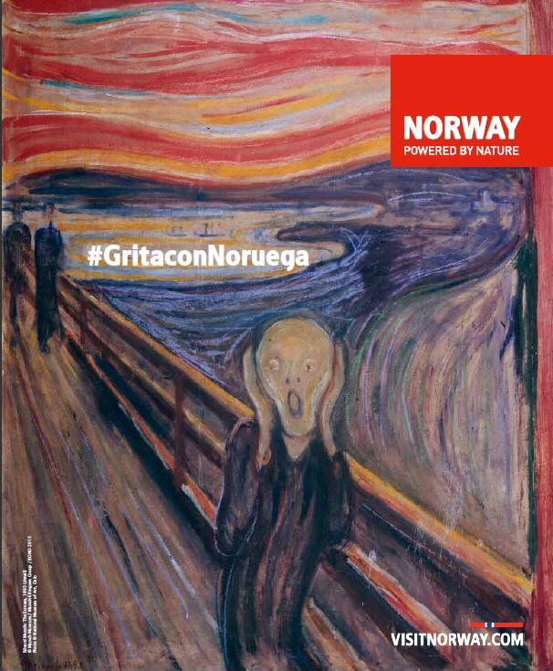 Concurso de Noruega para celebrar el año Munch autor de El Grito