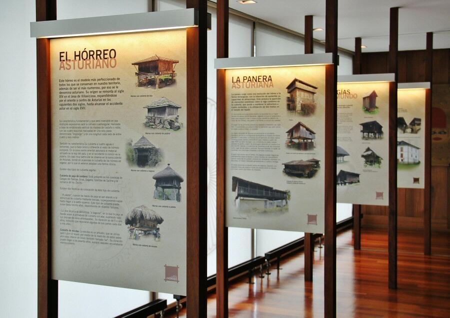 Centro de Interpretación del Hórreo de Bueño en Asturias