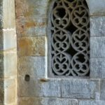 Ventana en la Iglesia de San Salvador de Valdediós en Asturias