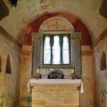Abside de la iglesia de San Salvador de Valdediós en Asturias