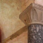 Columna en la iglesia de San Salvador de Valdediós en Asturias