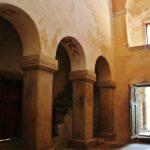Nave central de la iglesia de San Salvador de Valdediós en Asturias