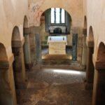 Nave de la iglesia de San Salvador de Valdediós en Asturias
