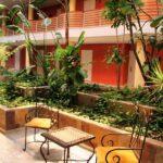 Zona de habitaciones del Hotel Barceló Corralejo Bay en Fuerteventura