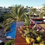 Terraza de habitación del Hotel Barceló Corralejo Bay en Fuerteventura
