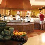 Buffet de desayuno en Hotel Barceló Corralejo Bay en Fuerteventura