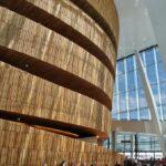 Cuberta de madera de roble en el interior de la Opera de Oslo