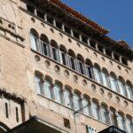 Fachada principal del Palacio Espiscopal de Tarazona en Aragón