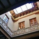 Patio del Palacio Espiscopal de Tarazona en Aragón