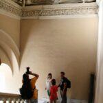 Escalera Noble del Palacio Espiscopal de Tarazona en Aragón