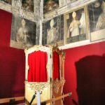 Salón de los Obispos del Palacio Espiscopal de Tarazona