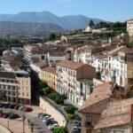 Vistas panorámicas de Tarazona y el Moncayo desde el Palacio Episcopal